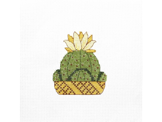 Savanna Flower Cross Stitch Kit фото 1