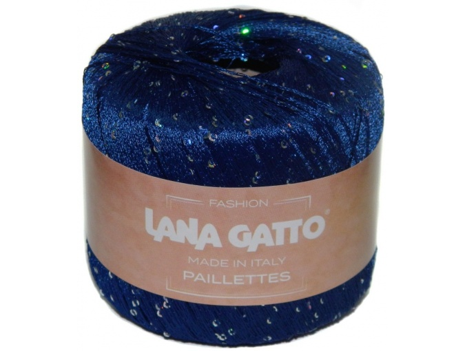 Lana Gatto Paillettes 100% Polyester, 10 Skein Value Pack, 250g фото 8