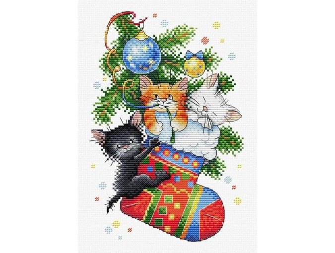 New Year Gift Cross Stitch Kit фото 1