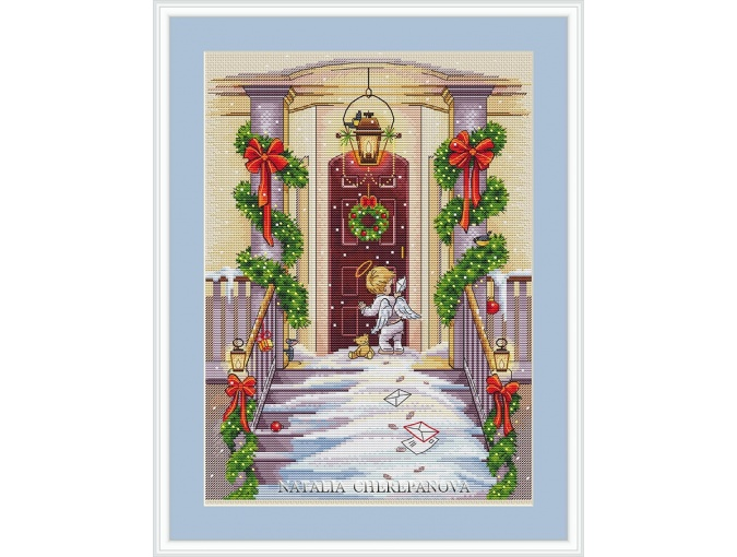 Magic at the Front Door Cross Stitch Pattern фото 1