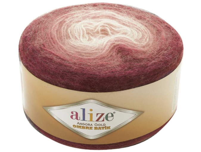 Alize Angora Gold Ombre Batik, 20% Wool, 80% Acrylic 4 Skein Value Pack, 600g фото 6