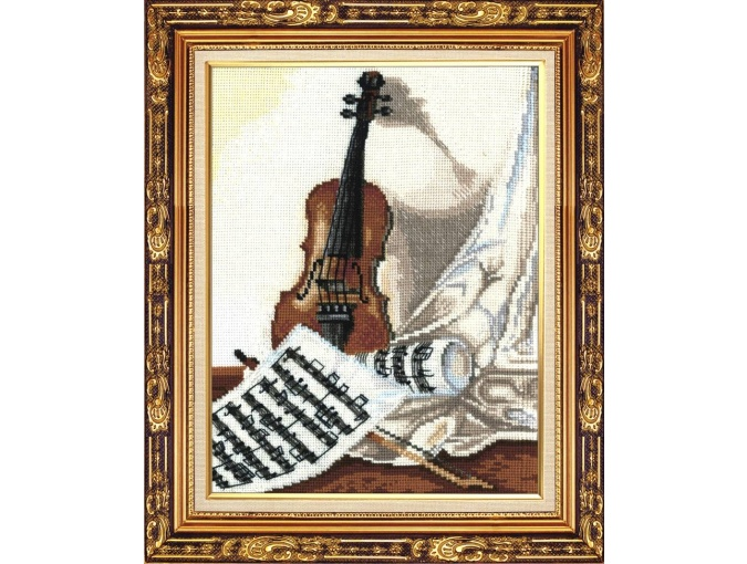 Melody for Violin Cross Stitch Kit фото 1