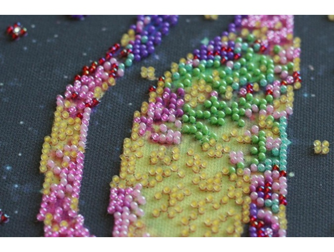 Kittens' Purrings Bead Embroidery Kit фото 6