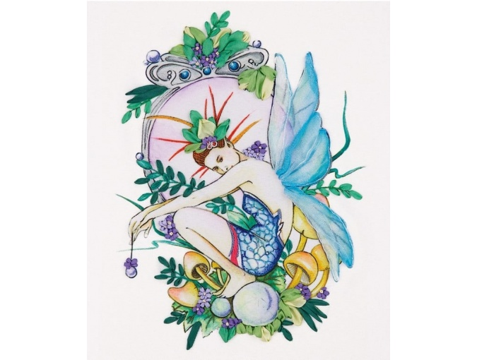 Forest Fairy Embroidery Kit фото 1