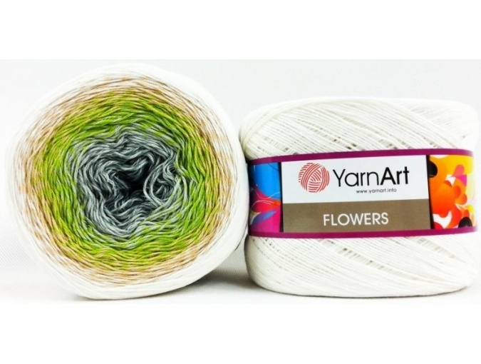 YarnArt Flowers, 55% Cotton, 45% Acrylic, 2 Skein Value Pack, 500g фото 46