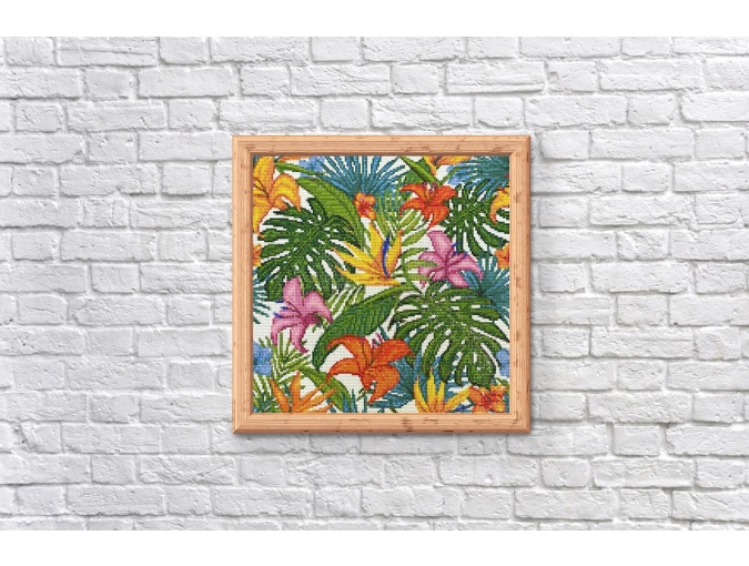 Tropics Diamond Painting Kit фото 3
