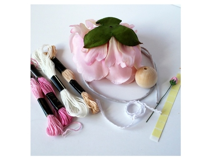 Fairy Flower Doll Sewing Kit фото 3