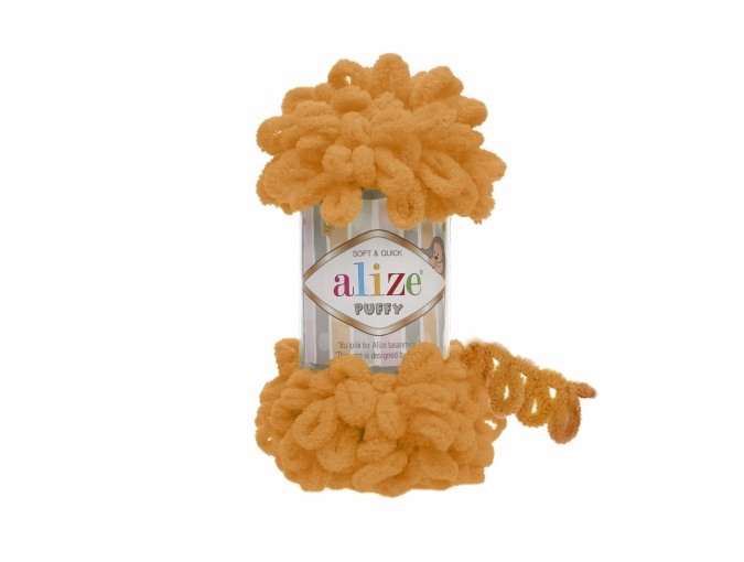 Alize Puffy, 100% Micropolyester 5 Skein Value Pack, 500g фото 36