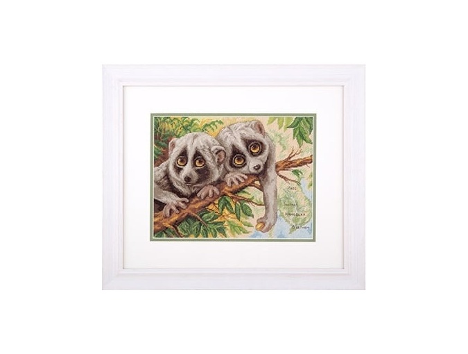 Modest Loris Cross Stitch Kit фото 2