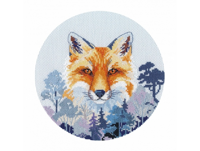 Miniature. Fox Cross Stitch Kit  фото 1