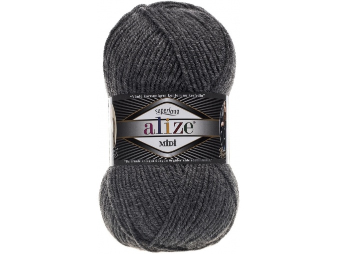 Alize Superlana Midi 25% Wool, 75% Acrylic, 5 Skein Value Pack, 500g фото 19