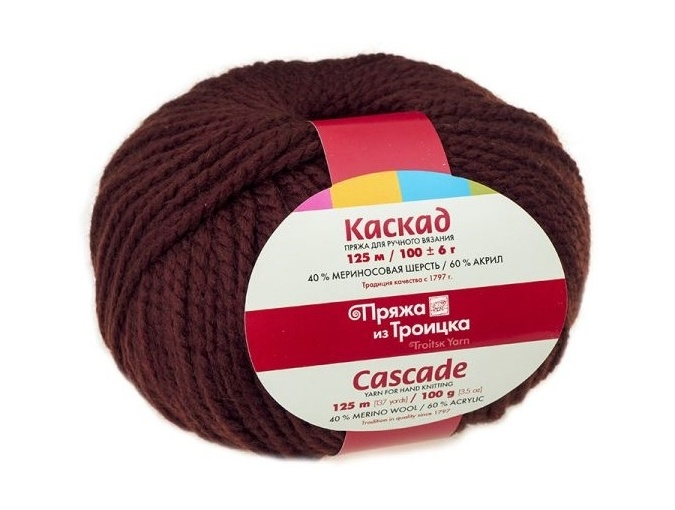 Troitsk Wool Cascade, 40% wool, 60% acrylic 10 Skein Value Pack, 1000g фото 10