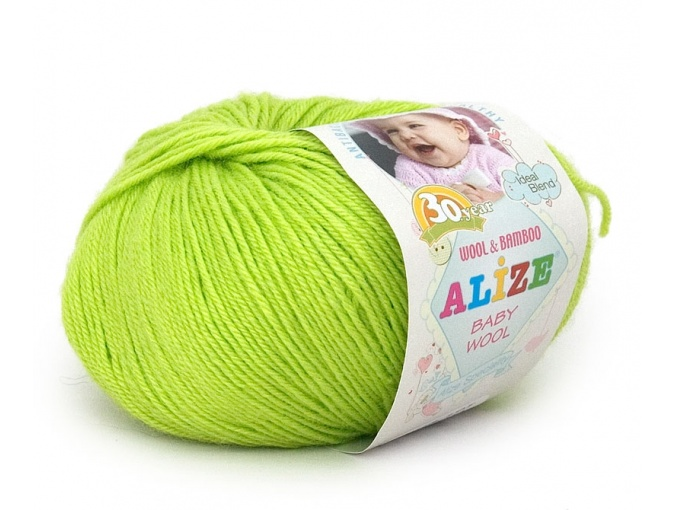 Alize Baby Wool, 40% wool, 20% bamboo, 40% acrylic 10 Skein Value Pack, 500g фото 43