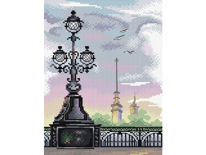 St. Petersburg Cross Stitch Kit фото 1