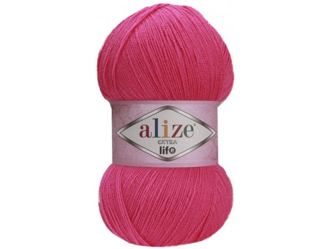 Alize Extra Life 100% Acrylic, 5 Skein Value Pack, 500g фото 14