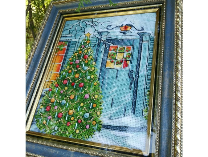 Christmas is on the Doorstep Cross Stitch Pattern фото 2