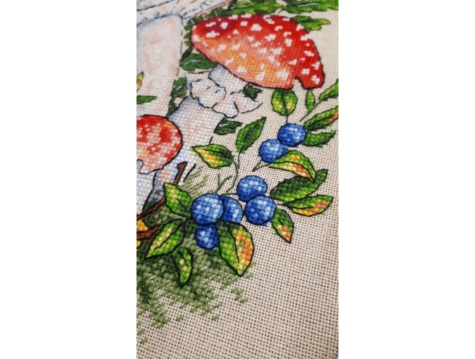 Fly-agarics Cross Stitch Pattern фото 4