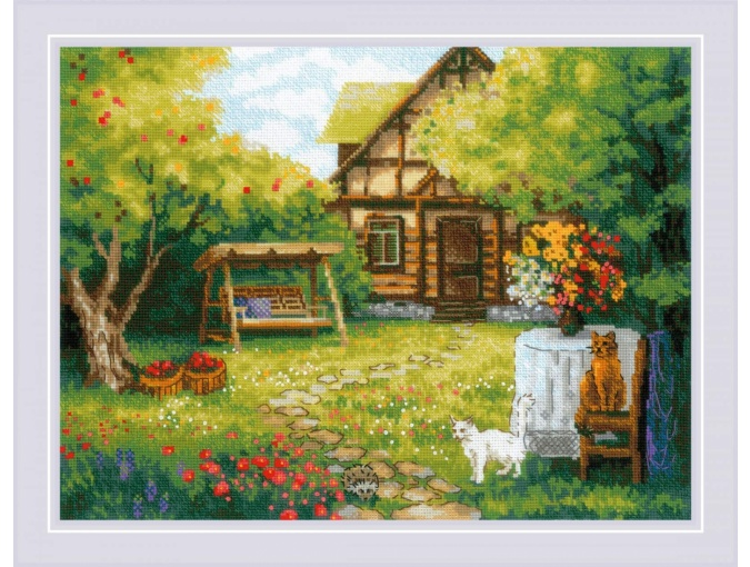 Country House Cross Stitch Kit фото 1