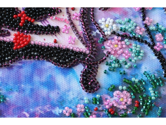 Spring Guest Bead Embroidery Kit фото 3