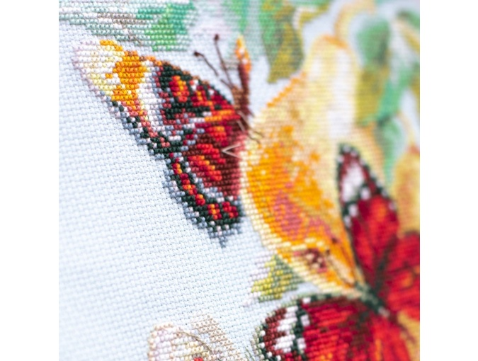 Butterflies and Pears Cross Stitch Kit фото 7