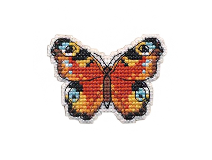 Satumia Badge Cross Stitch Kit фото 1