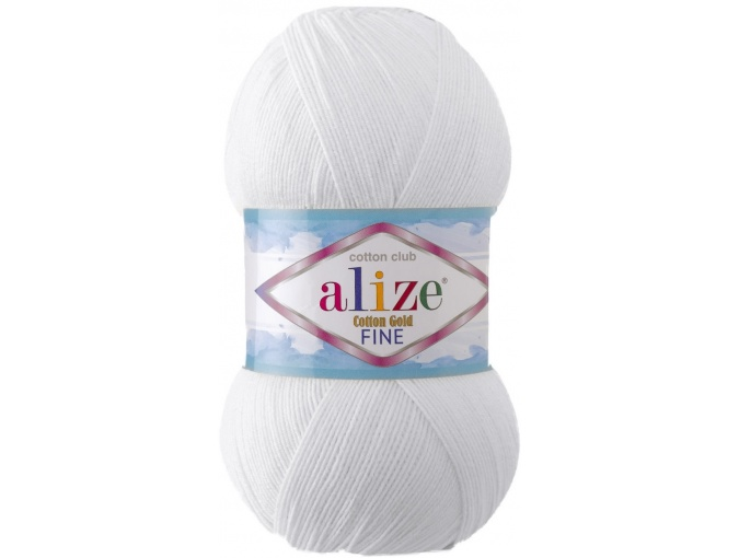 Alize Cotton Gold Fine 55% cotton, 45% acrylic 5 Skein Value Pack, 500g фото 6