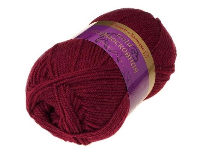 Troitsk Wool Countryside Gold, 50% wool, 50% acrylic 5 Skein Value Pack, 500g фото 2