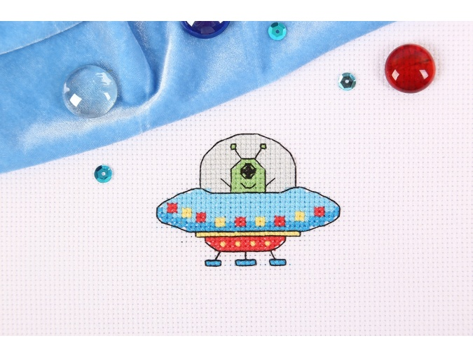 UFO Cross Stitch Kit фото 3