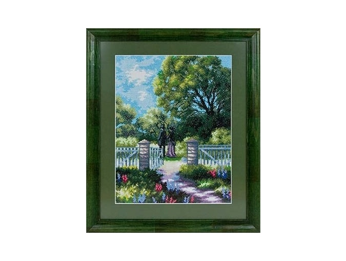 At the Gate Cross Stitch Kit фото 2