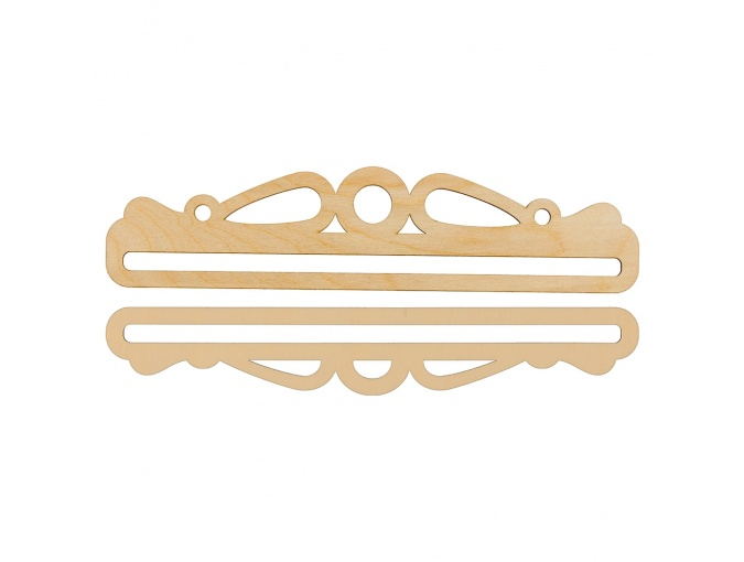 №1 Wooden Embroidery Hanger фото 1