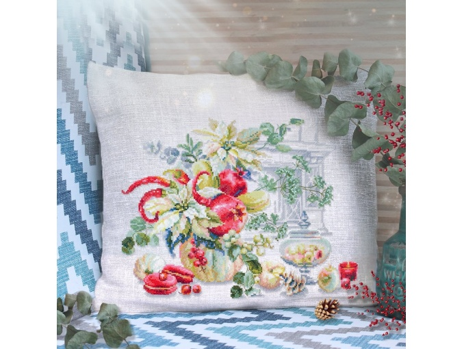 Winter Improvisation Cross Stitch Kit фото 3