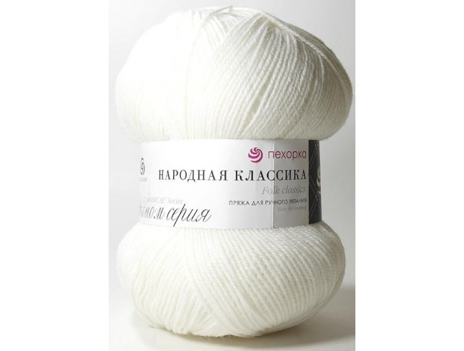 Pekhorka Folk Classics, 30% Wool, 70% Acrylic 5 Skein Value Pack, 500g фото 2