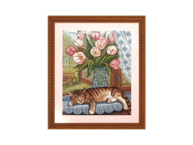 Lazy Dozer Cross Stitch Kit фото 2