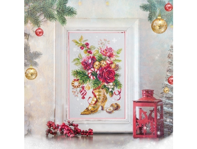 Christmas Surpeise Cross Stitch Kit  фото 3