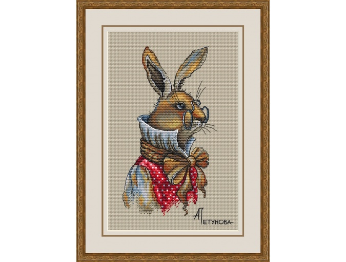 Brother Rabbit Cross Stitch Pattern фото 1