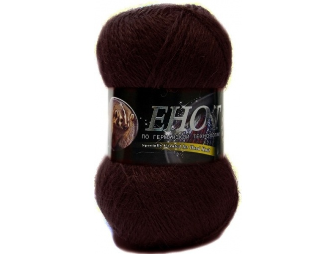 Color City Raccoon 60% Lambswool, 20% Raccoon Wool, 20% Acrylic, 10 Skein Value Pack, 1000g фото 25