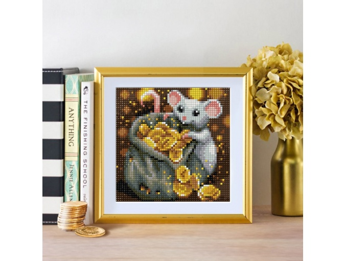Rat and Treasure Diamond Painting Kit фото 2