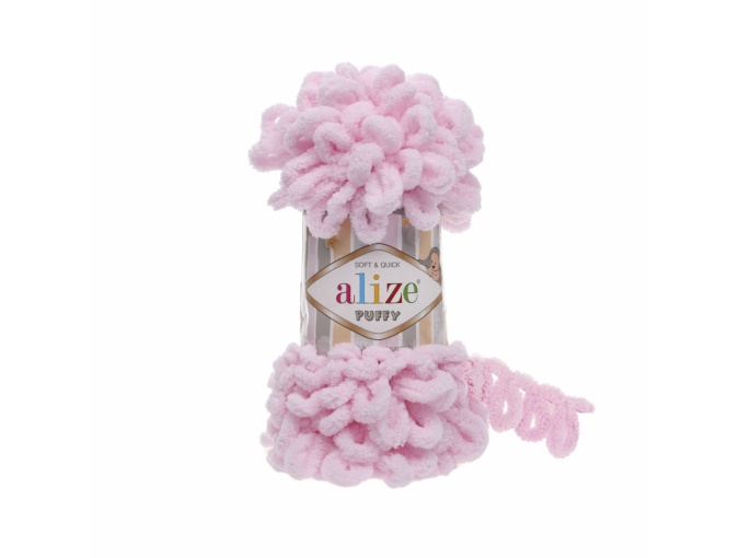 Alize Puffy, 100% Micropolyester 5 Skein Value Pack, 500g фото 9