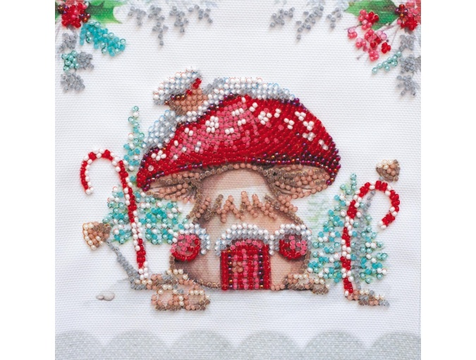 Winter Magic Bead Embroidery Kit фото 1