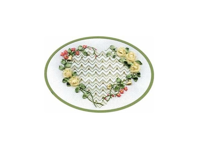 From the Bottom of the Heart Cross Stitch Kit фото 1