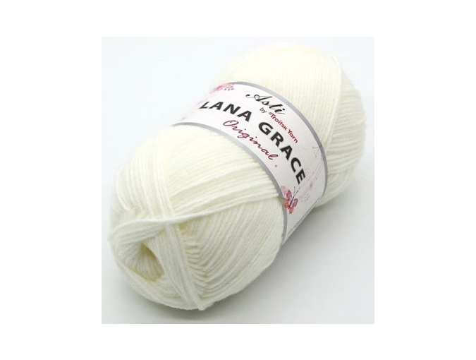 Troitsk Wool Lana Grace Original, 25% Merino wool, 75% Super soft acrylic 5 Skein Value Pack, 500g фото 4