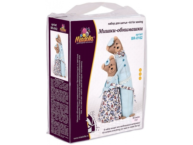 Bear Couple Toy Sewing Kit фото 3