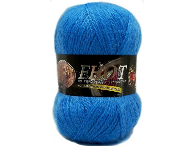 Color City Raccoon 60% Lambswool, 20% Raccoon Wool, 20% Acrylic, 10 Skein Value Pack, 1000g фото 5