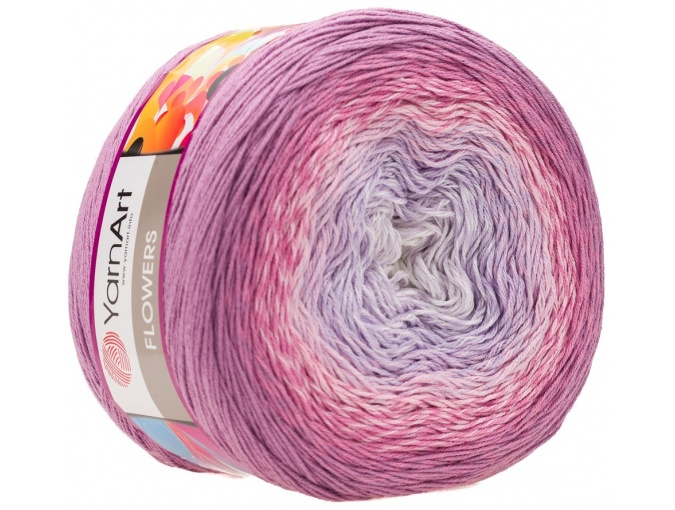 YarnArt Flowers, 55% Cotton, 45% Acrylic, 2 Skein Value Pack, 500g фото 59
