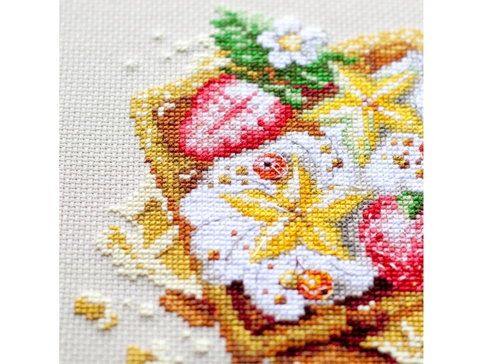 Viennese Waffles Cross Stitch Kit фото 9
