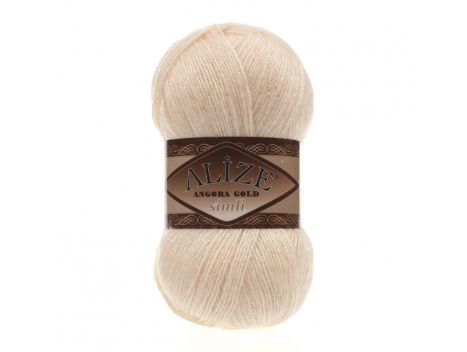 Alize Angora Gold Simli, 5% Lurex, 10% Mohair, 10% Wool, 75% Acrylic, 5 Skein Value Pack, 500g фото 53