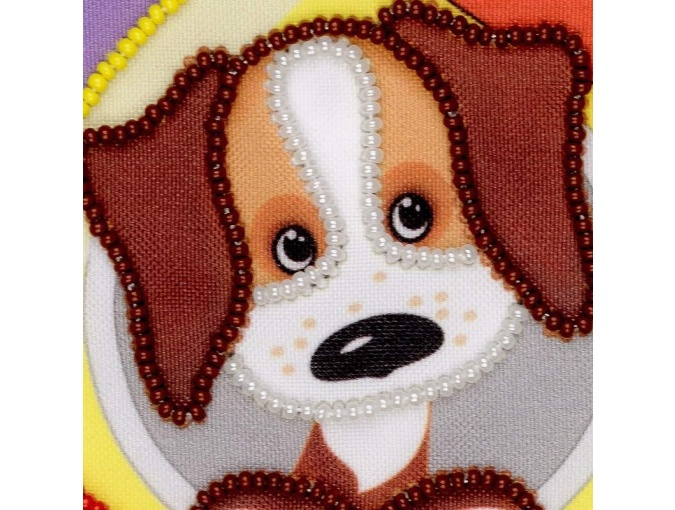 First One in Space Bead Embroidery Kit фото 2