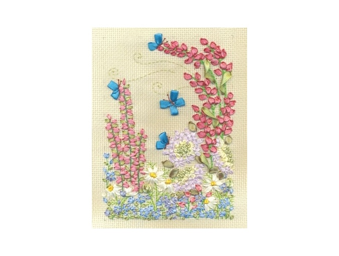 Flower World Embroidery Kit фото 1