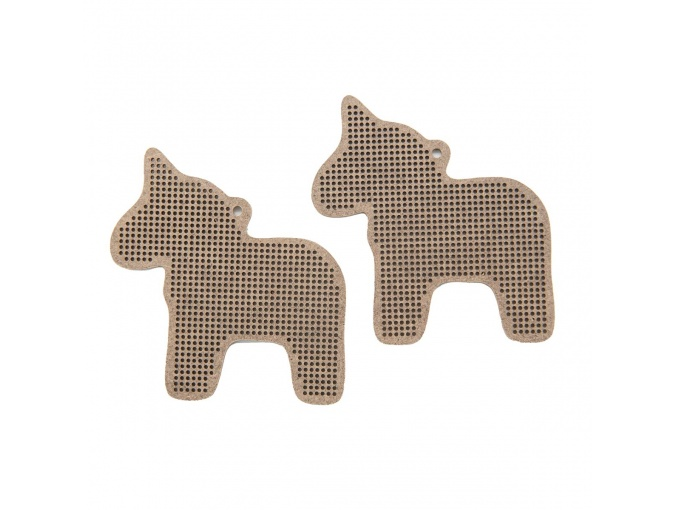 Horse Perforated Canvas Set фото 1