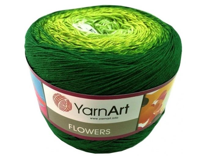YarnArt Flowers, 55% Cotton, 45% Acrylic, 2 Skein Value Pack, 500g фото 63